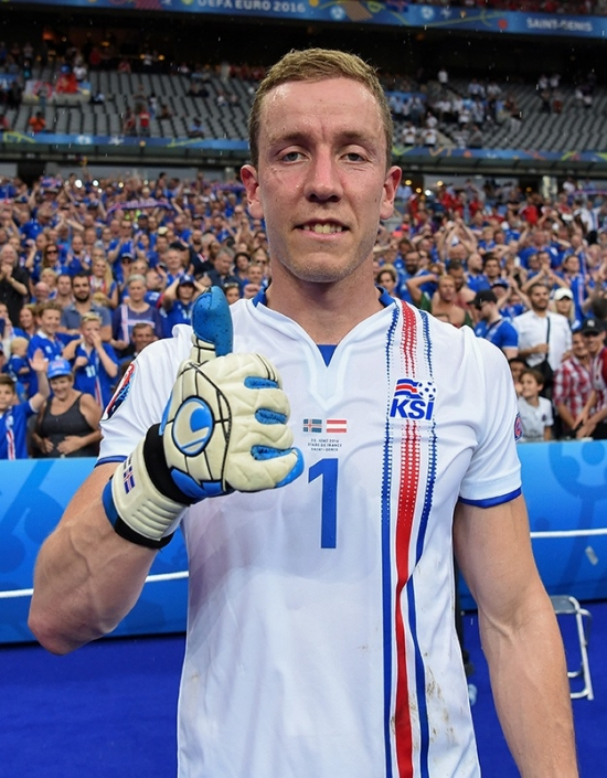 #uhlsquad - Hannes Halldorsson