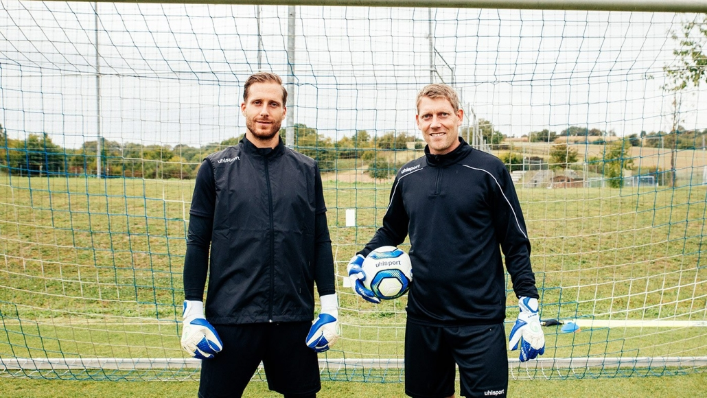 Das Torwatteam der TSG 1899 Hoffenheim - Michael Rechner und Oliver Baumann
