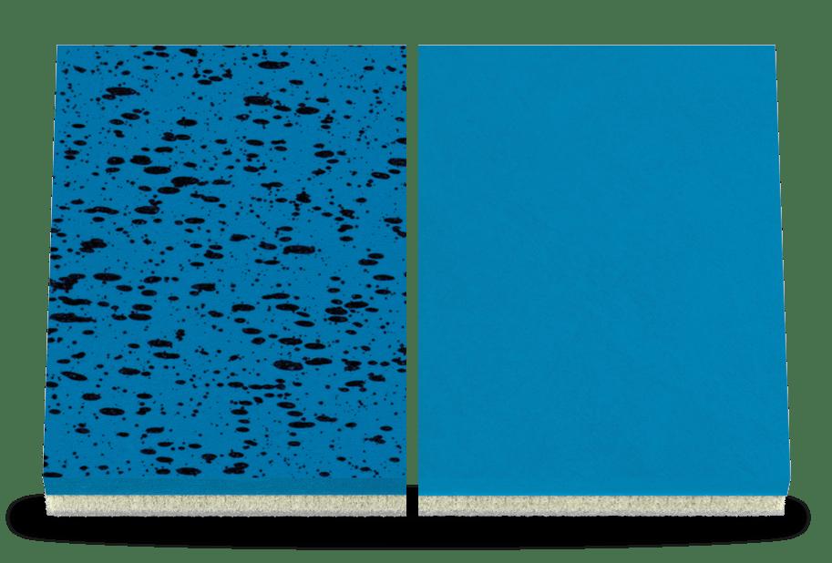 uhlsport AQUAGRIP und AQUASOFT Haftschaum für Torwarthandschuhe in der Makroaufnahme