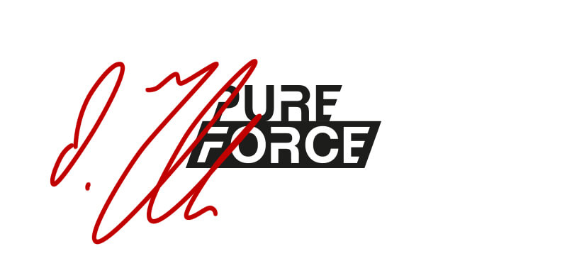 uhlsport PURE FORCE Torwarthandschuhe unterschrieben von Oliver Baumann