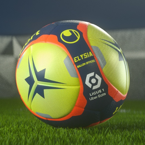Official Match Ball of Ligue 1 Uber Eats 2021